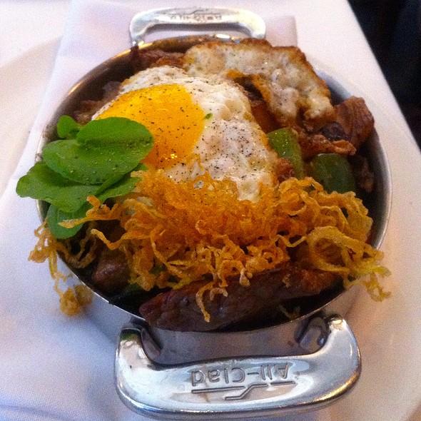 Dry Aged Sirloin Hash with Crisp Onions - The Capital Grille - Costa Mesa, Costa Mesa, CA