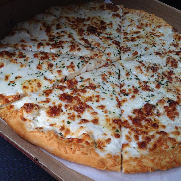 parmesan cheese pizza