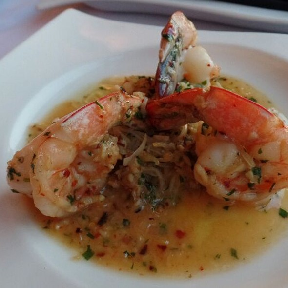 Jumbo Shrimp al Ajillo - The Sky Room, Long Beach, CA