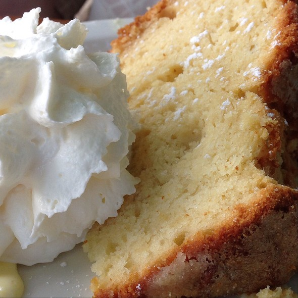 Lemon Ricotta Cake - Osteria Fasulo, Davis, CA