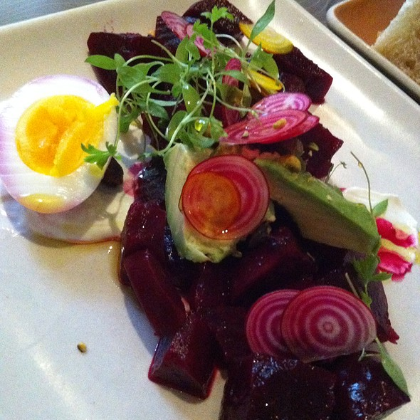 Marinated Roasted Beets - Floataway Cafe, Atlanta, GA