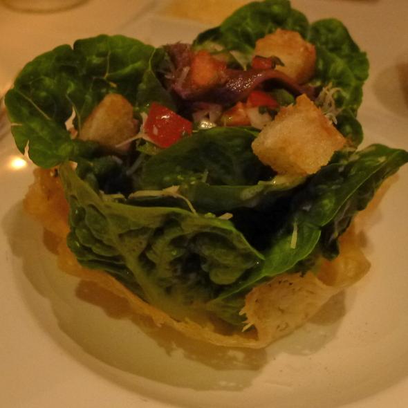 H.R. Caesar Salad, Crispy Cheese Basket @ Alan Wong's Restaurant