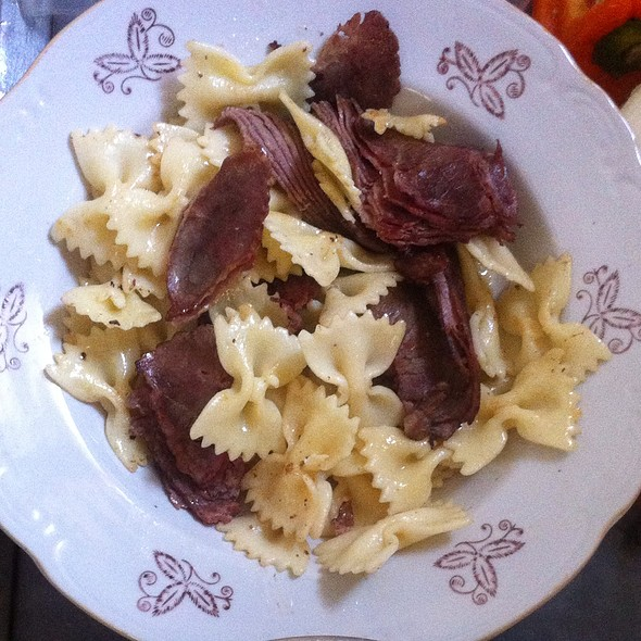 Pasta With Roastbeef  @ Sweet Home