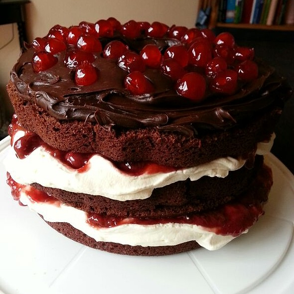 Black Forest Cake @ Mare's Place