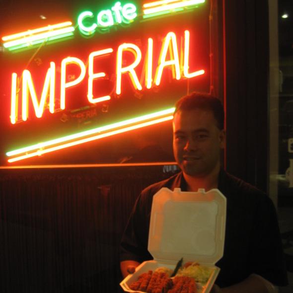 tonkatsu @ Kaffee Imperial Inc