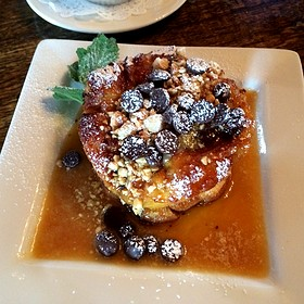 Hazelnut Chocolate Bread Pudding - Chateau Morrisette, Floyd, VA