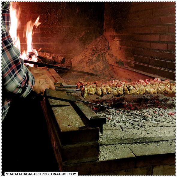 Grilled Lamb @ El Molinero