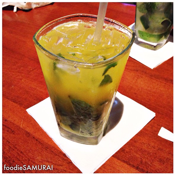 Mambo Mango Mojito @ Jaguar Ceviche Spoon Bar & Latam Grill