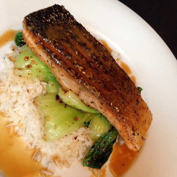 Crispy Salmon - The Metropolitan, Calgary, AB