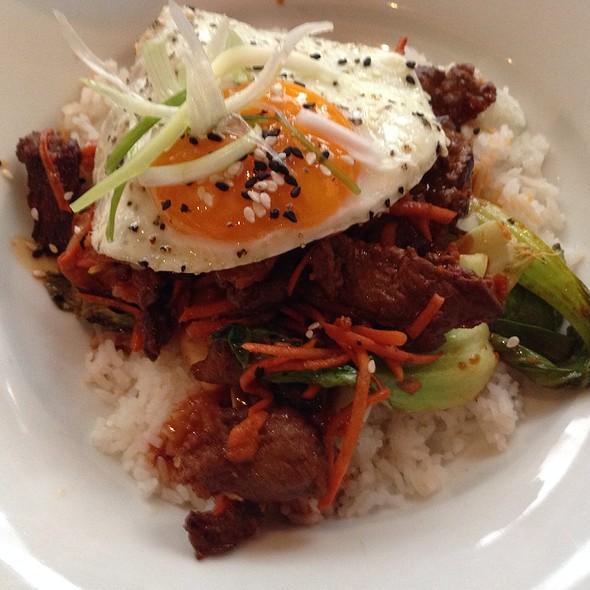 Korean Beef Rice Bowl - The Metropolitan, Calgary, AB