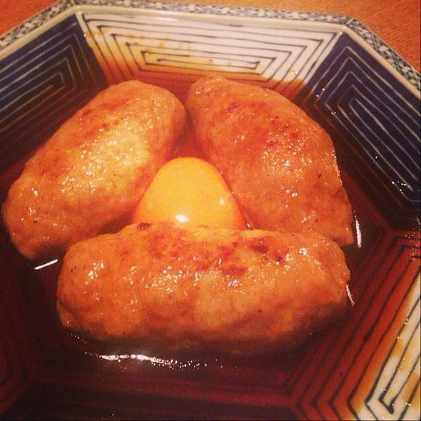つくね(Tsukune: Chiken Meat Ball on a stick) - 宵の口, 港区, 東京都