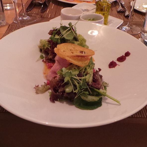 Beef Tartare and Flatiron, Tomatoes, Salad @ Christian Penzhorn