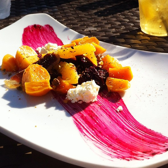 Salad Of Baby Beets - BLU Restaurant & Bar, Folly Beach, SC