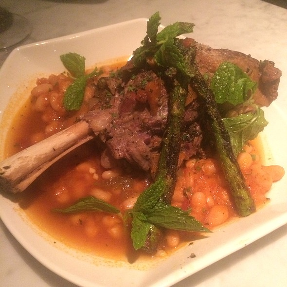 Lamb Shank With White Bean Cassoulet @ Epice