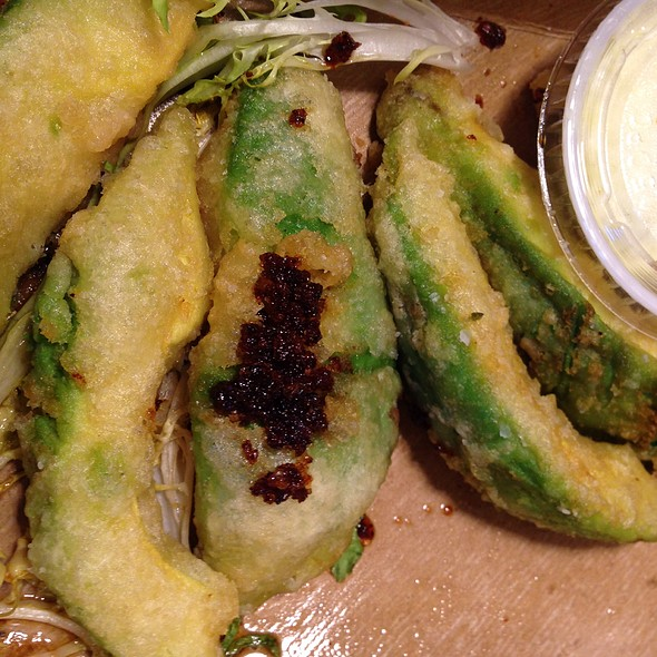 Tempura-Fried Avocado @ Ironside