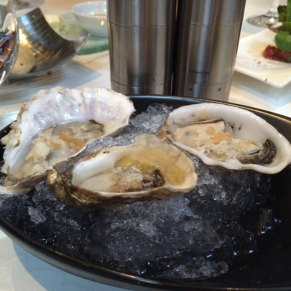 West Coast Oysters - West Restaurant, Vancouver, BC
