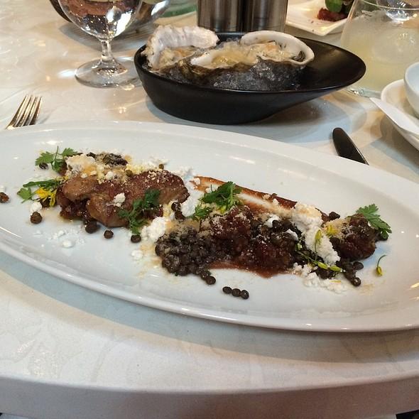 Pan Seared Foie Gras - West Restaurant, Vancouver, BC