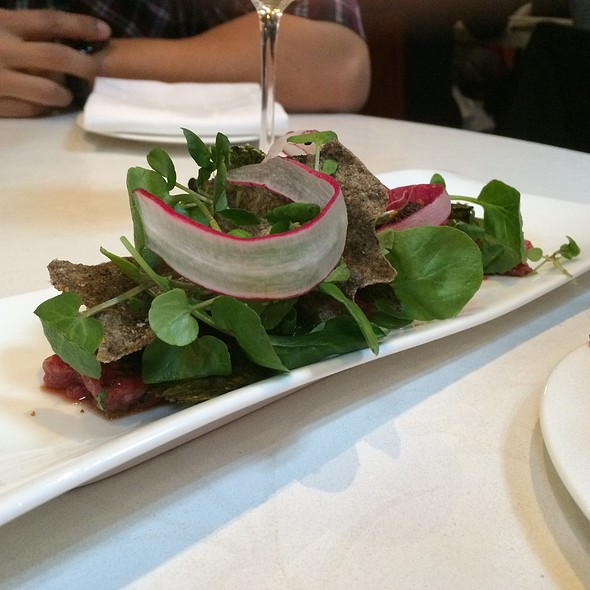 Beef Tartare - West Restaurant, Vancouver, BC