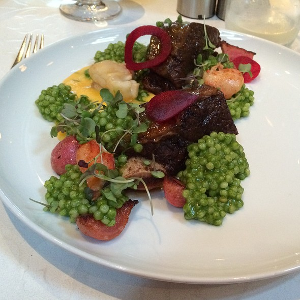 Overnight Braised Bison Short Ribs - West Restaurant, Vancouver, BC