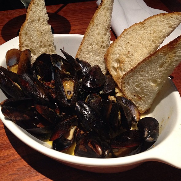Mussels With Garlic And Chilli @ Red Lobster