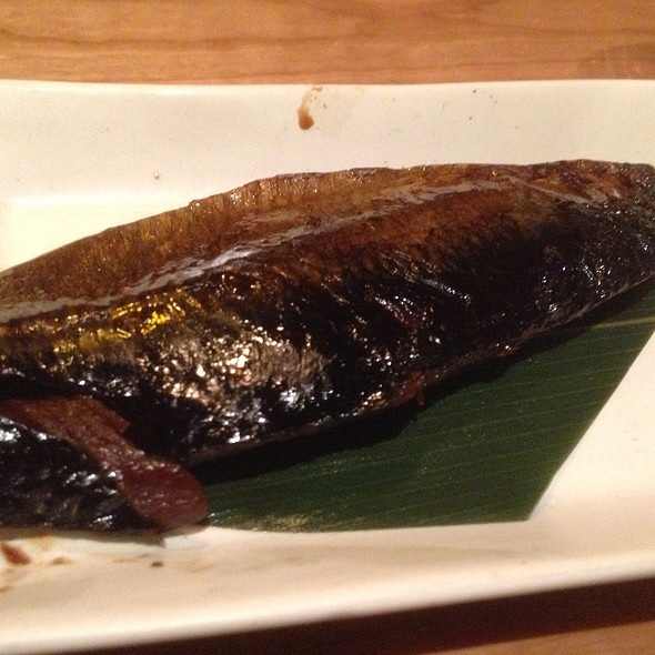 Soy Marinated Herring @ Soba Totto