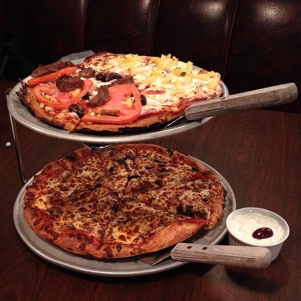 Assorted Pizzas @ RAZZíS PIZZERíA