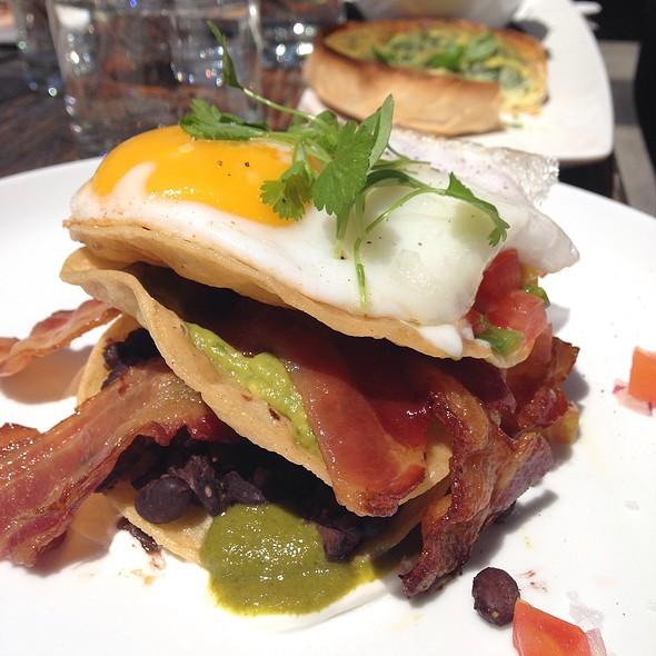 Tostada Rancheros - Origin Restaurant, Toronto, ON