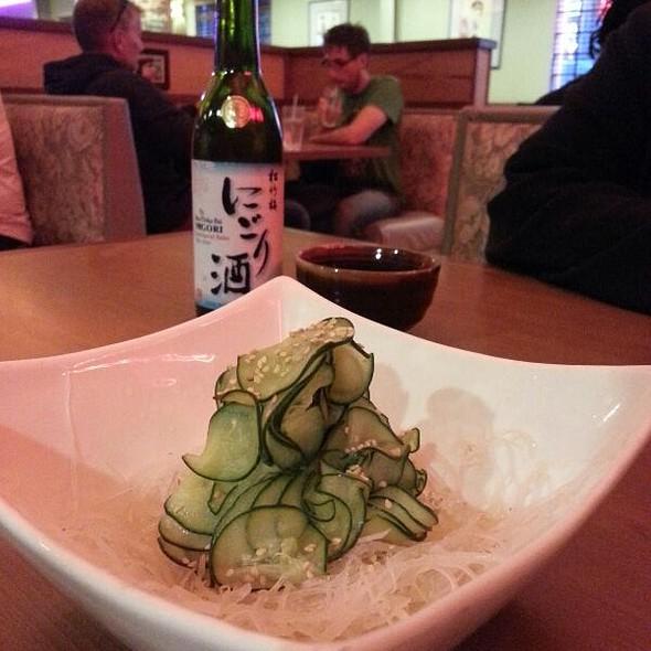 Cucumber Salad @ Yoshino Sushi