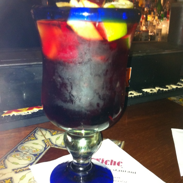 Red Sangria @ Ceviche