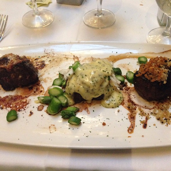 Filet Mignon Trio - Del Frisco's Double Eagle Steak House - Chicago, Chicago, IL