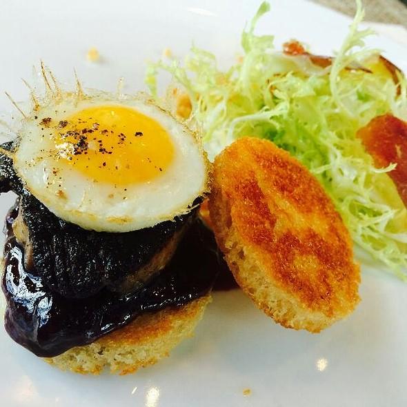 Foie Gras, Breakfast Style @ Triniti Restaurant + Bar