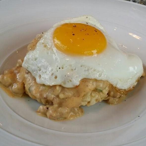 Fried Chicken Biscuit @ Triniti Restaurant + Bar