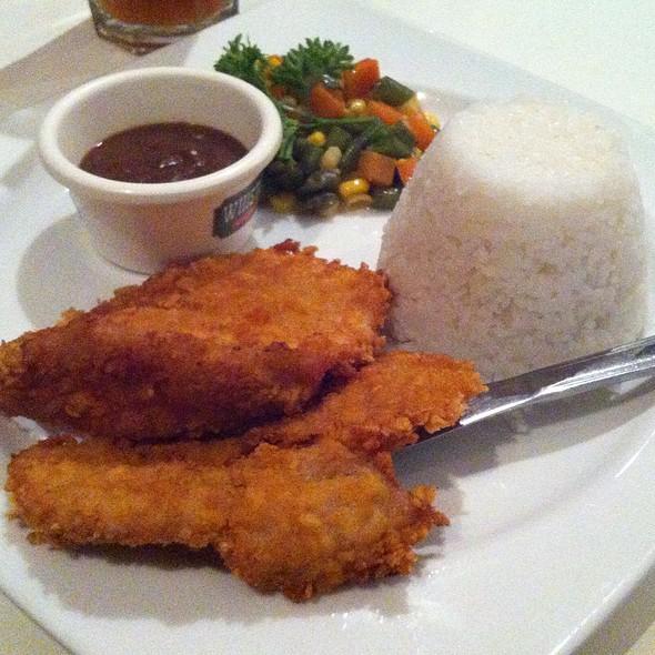 Country Fried Chicken Steak @ Whistlestop Restaurant And Bar