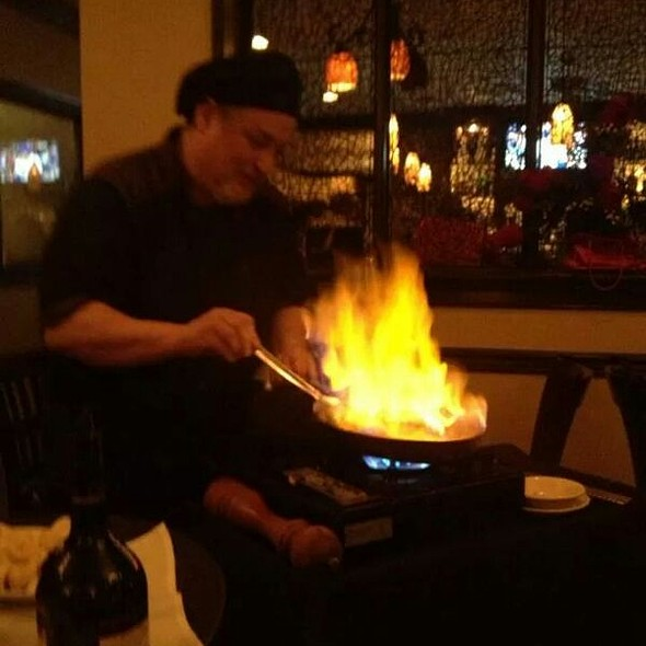 Bananas Foster - Vincente's Restaurant, Wilmington, DE