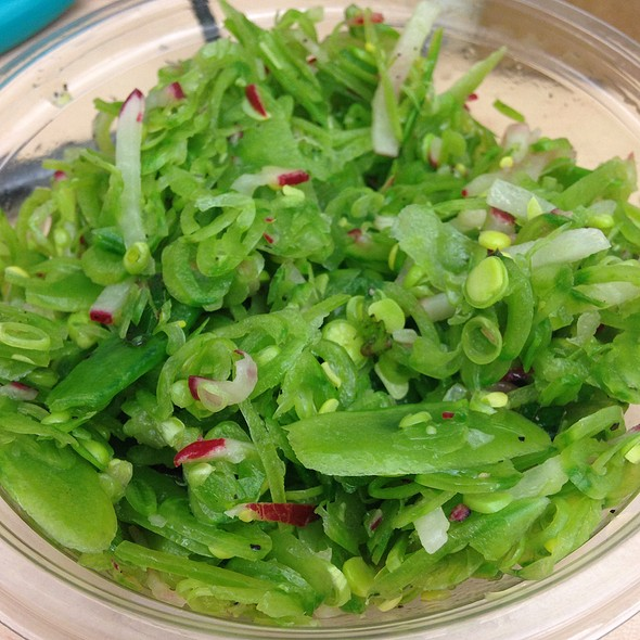 Sugar Snap Pea Salad @ Organic Avenue