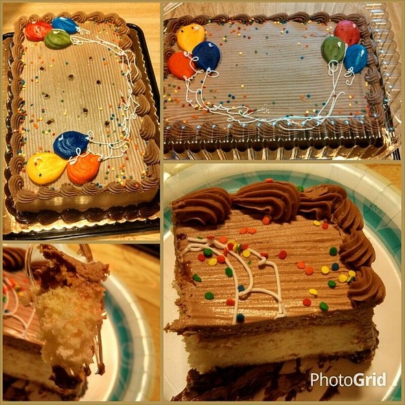 Birthday cake @ Landis Supermarket