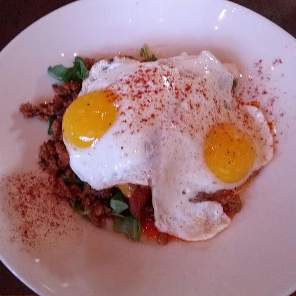 Crispy Polenta With Chorizo - Cafe 501 - Classen Curve, Oklahoma City, OK