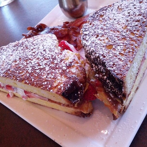 Stuffed French Toast - Cafe 501 - Classen Curve, Oklahoma City, OK