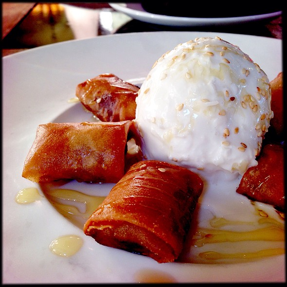 Fried Bananas & Coconut Ice Cream - Tamarind Seed, Atlanta, GA