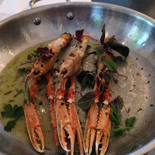 Langoustines - Ostra, Boston, MA