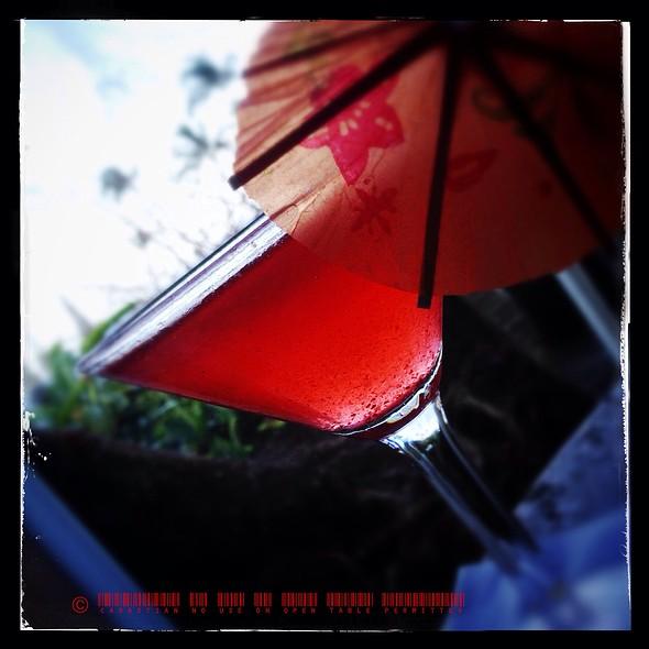 Royal Martini @ Travaasa Hana Hotel