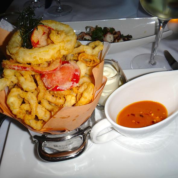 Fried Calamari @ La Ostra