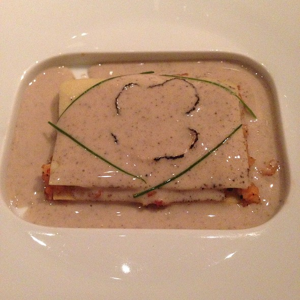 Lobster Lasagna With Celeriac And Truffle Butter