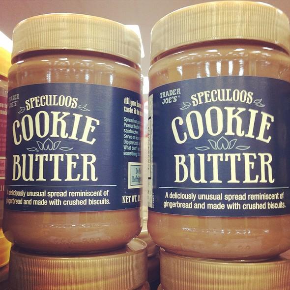 Cookie Butter @ Trader Joe's