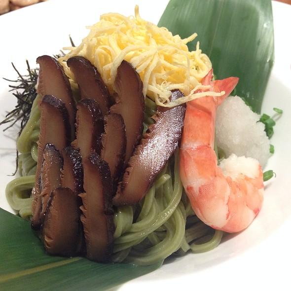 Cold Green Tea Soba Noodles @ Katana @ 8ight Thong Lor