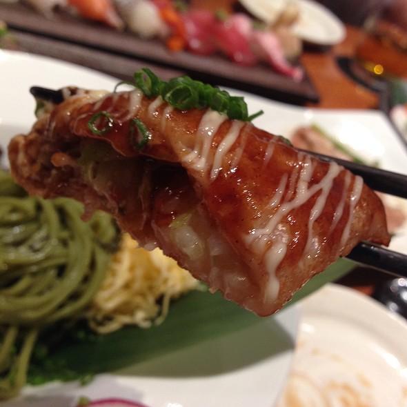 Grilled Pork Over Wrap Eggs @ Katana @ 8ight Thong Lor