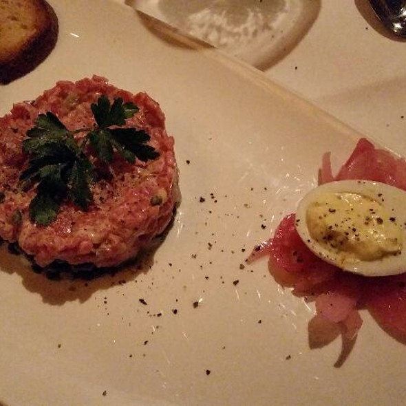 The Capital Grille Steak Tartare With Truffle Deviled Egg Foodspotting