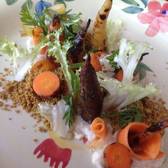 Carrots Roasted In Hay @ Odd Duck