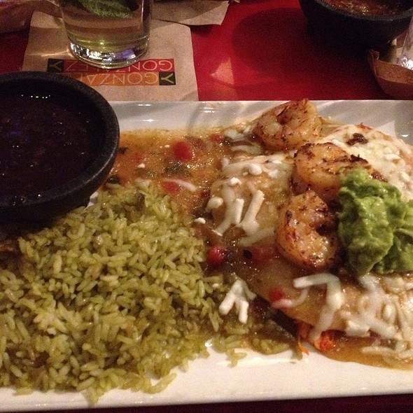 Shrimp & Chicken Suiza - Gonzalez Y Gonzalez - NYNY Hotel, Las Vegas, NV