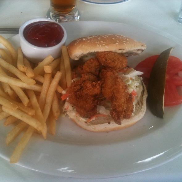 Oysters Burger - Scoma's Sausalito, Sausalito, CA